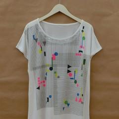 Brick Print F/S OP T-Shirts