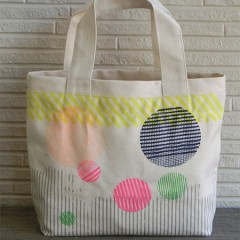 mini Bag (Line Circle)