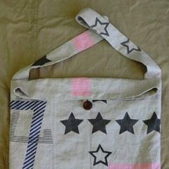 STAR Print Shoulder BAG