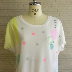 Circle Mix Print F/S T-shirts
