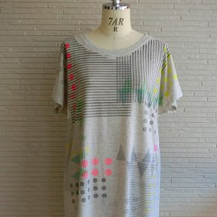 Graphic Print S/S OP T-shirts