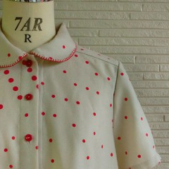 MIX Dot S/S Blouse