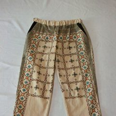 Tablecross Print Pants