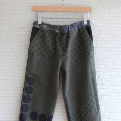 Dot Print Pants
