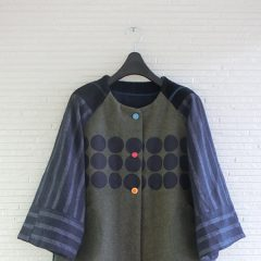 DOT×SRIPE JACKET