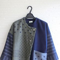 Asymmetry Dot Jacket