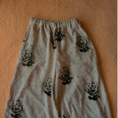 Rose Print Pants