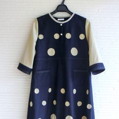 Patchwork Dot Dress